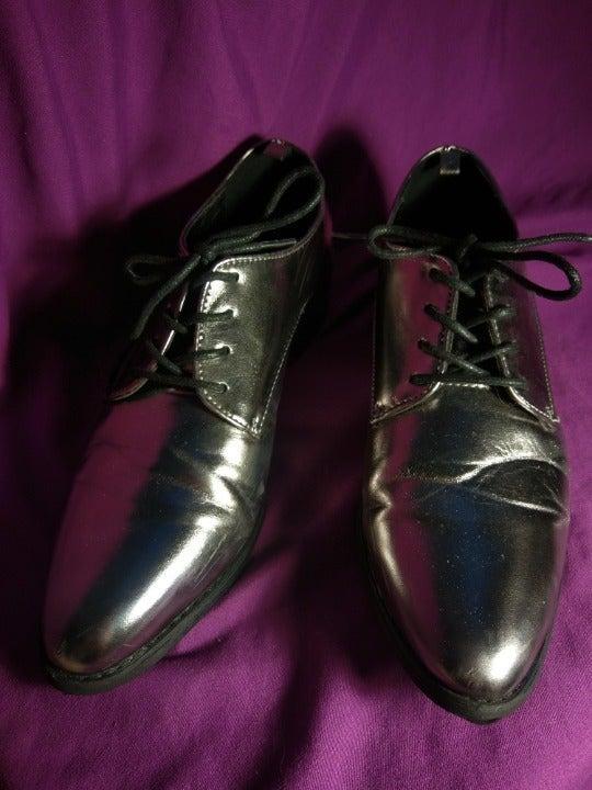 Metallic Loafers