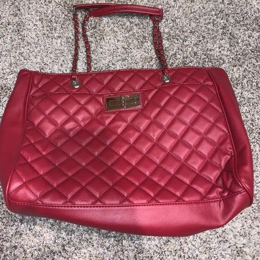 Red purse from Kohls Croft & Barrow