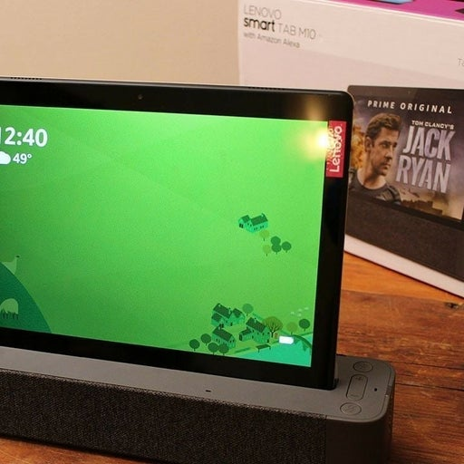 Lenovo tablet with Amazon  alex