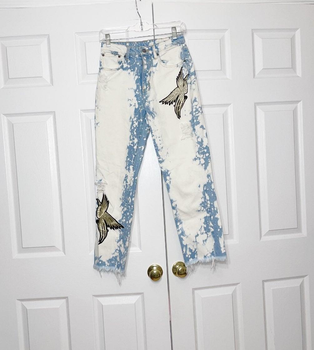 Carmar women's acid wash jeans