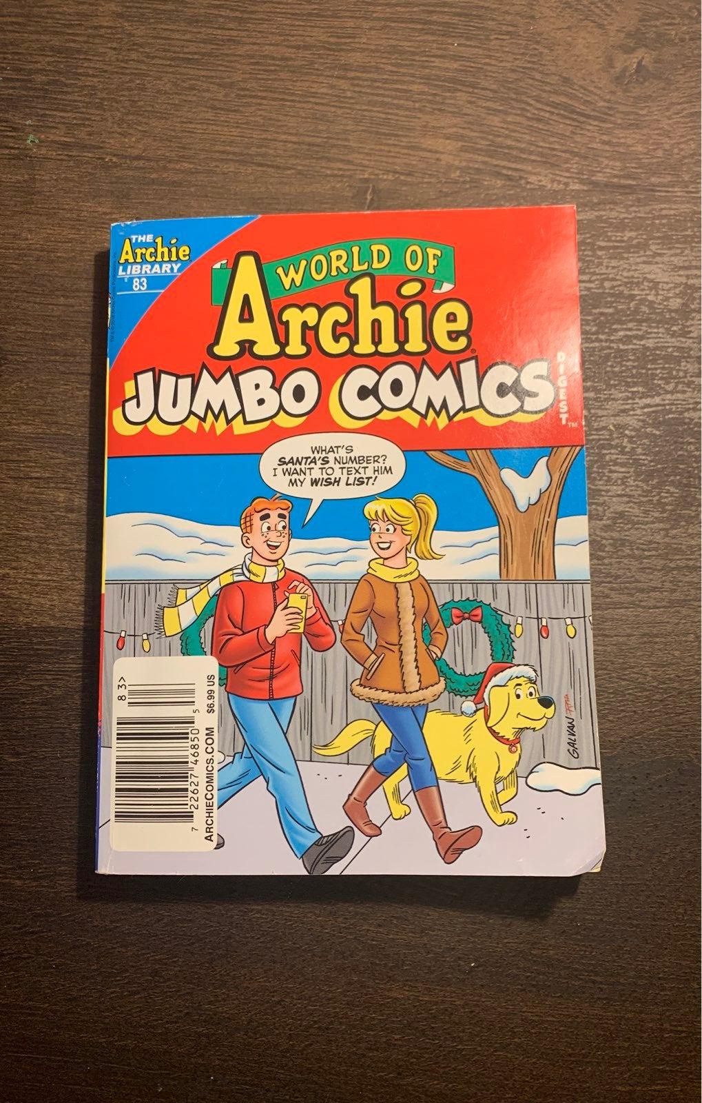 Archie Jumbo Comics #83