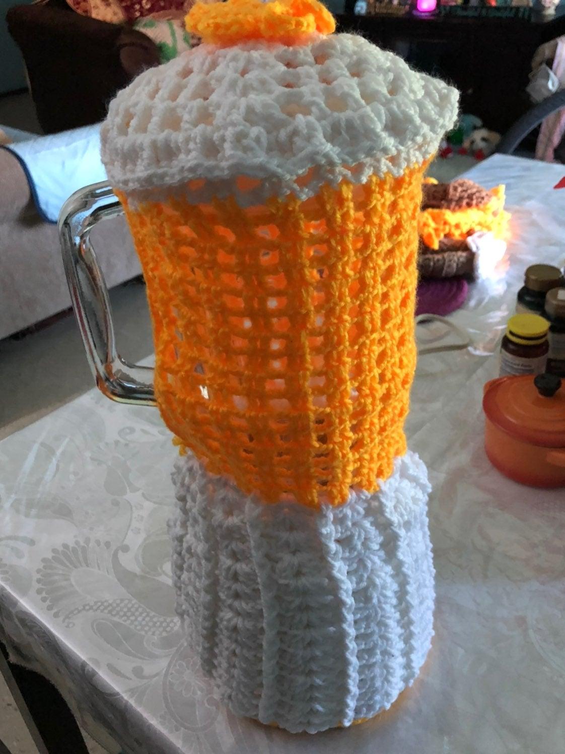 Blender cover crochet