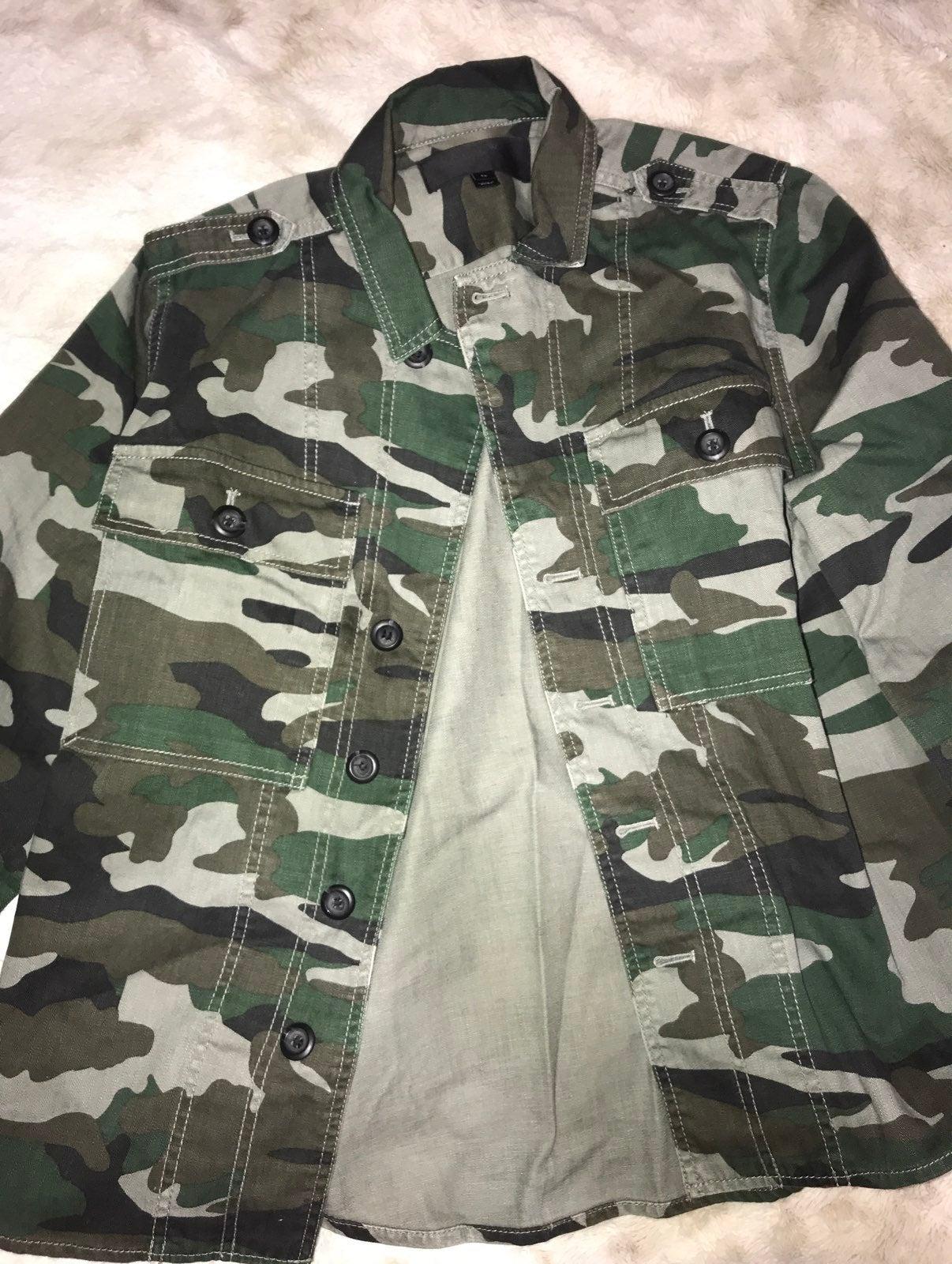 J. Crew Camo Jacket