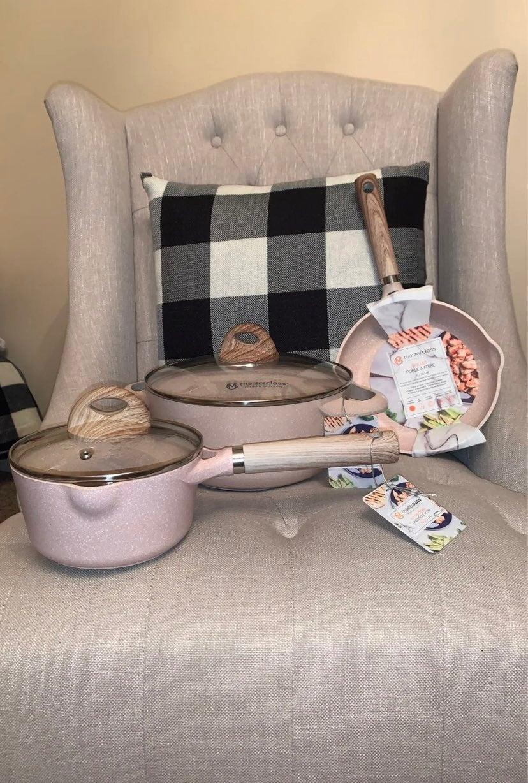 Masterclass 5 piece cookware set