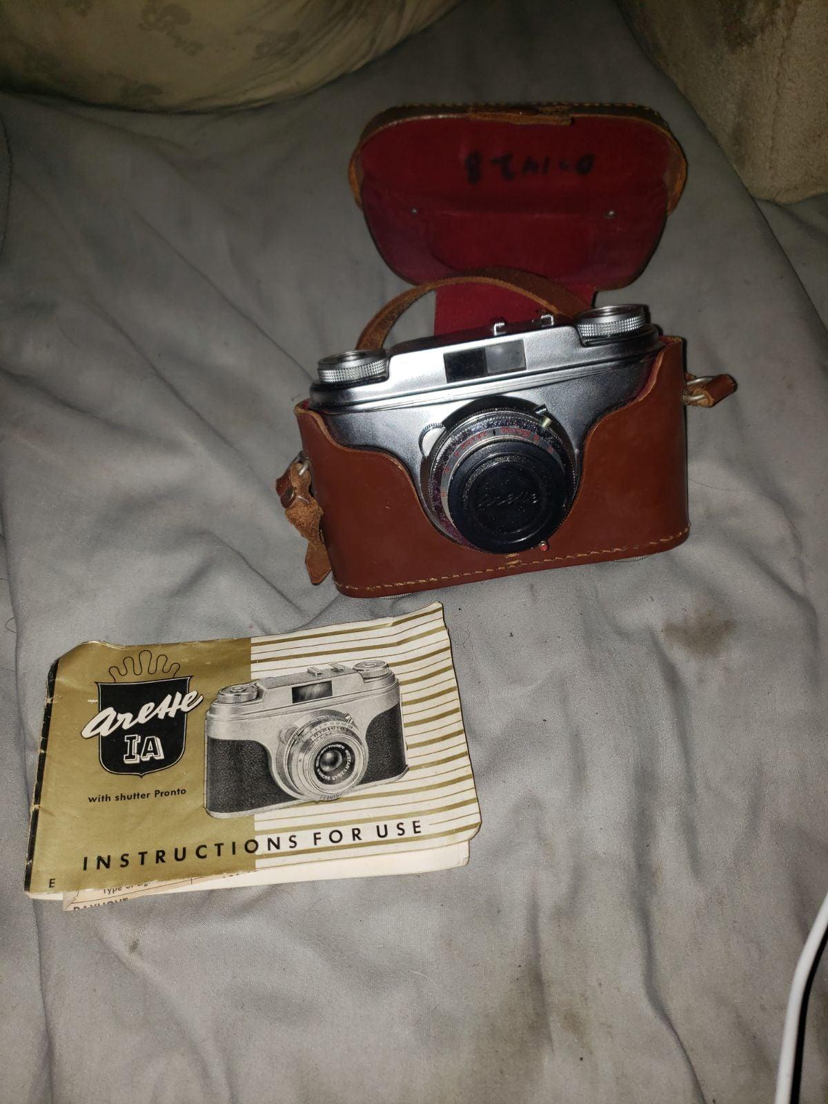 German Vintage Arette ia Camera