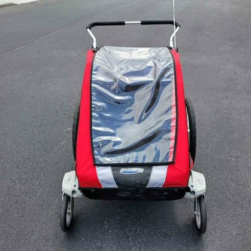Double Chariot Cougar 2 stroller trailer