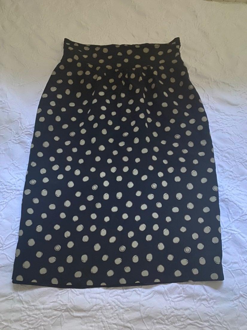 Christian Dior polka dot skirt