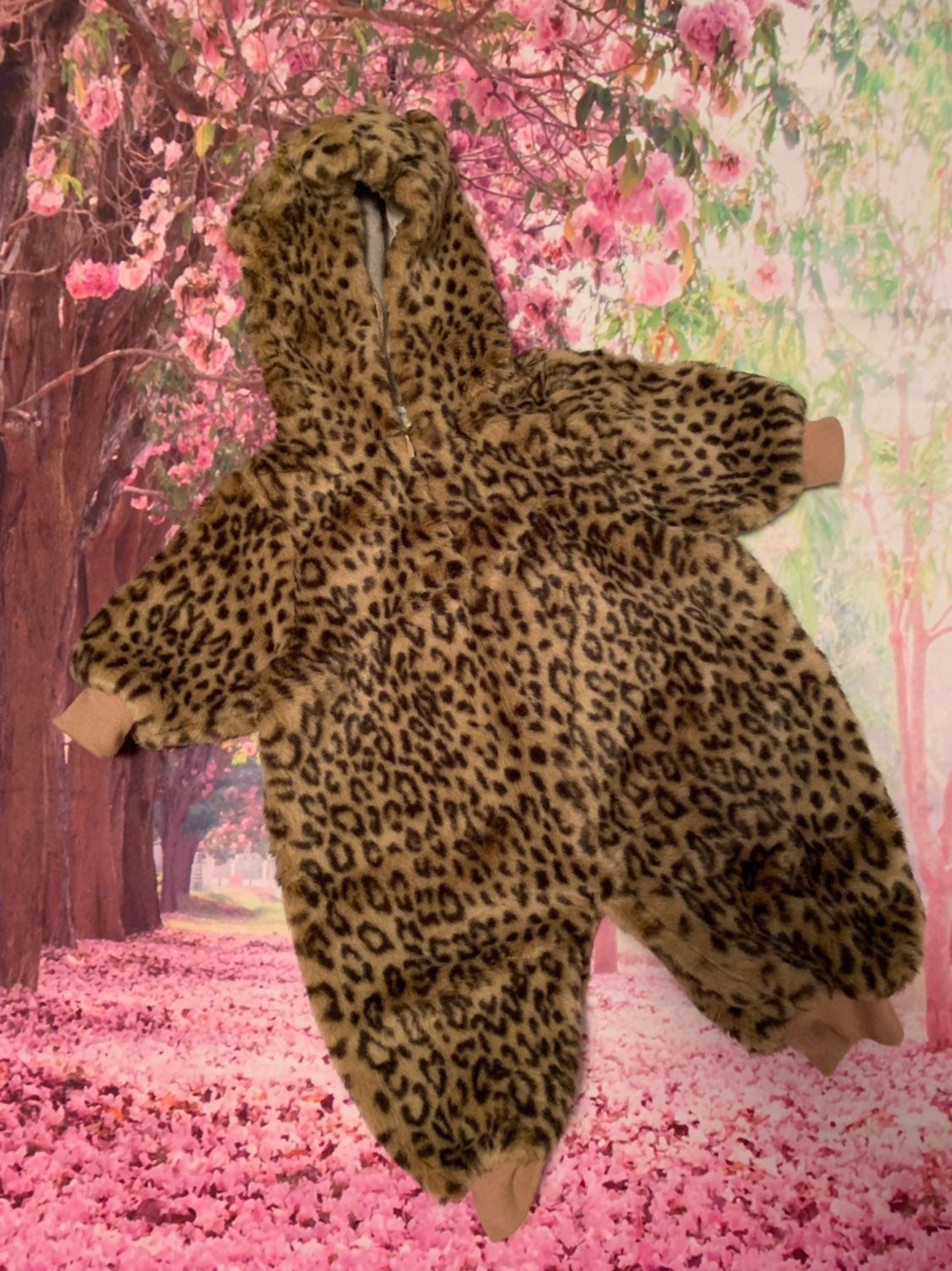Leopard Baby Bunting