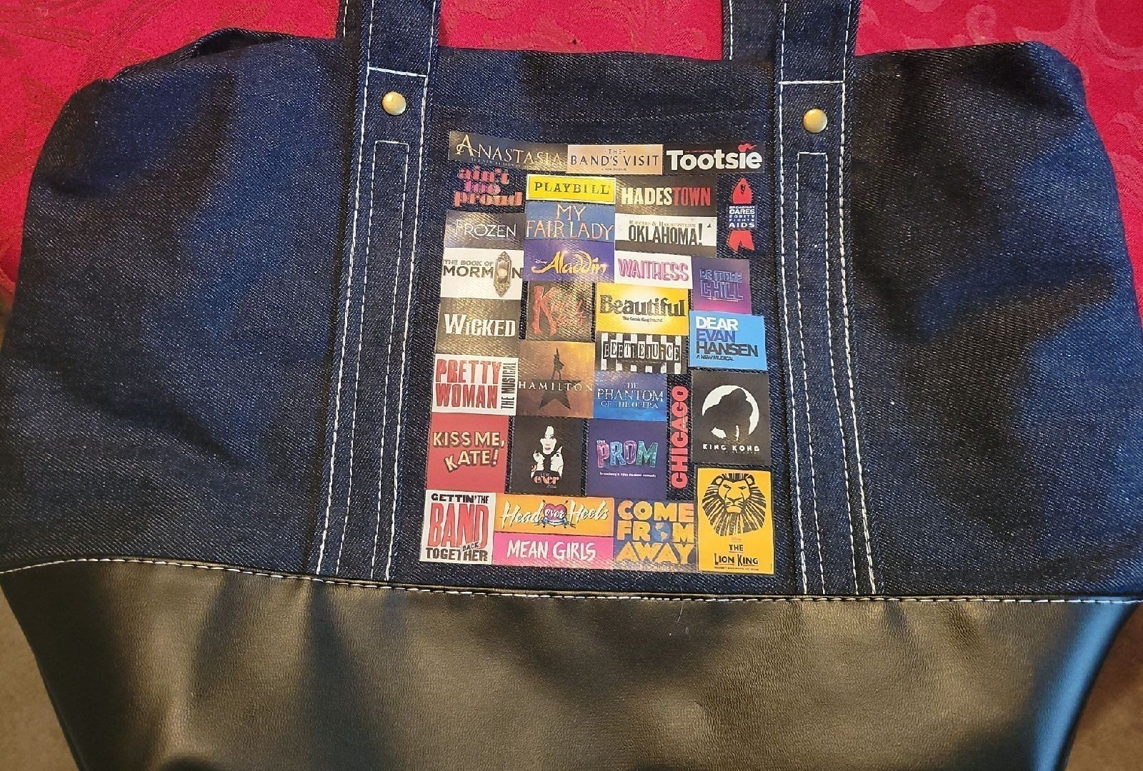 Broadway Musical Theater Tote bag