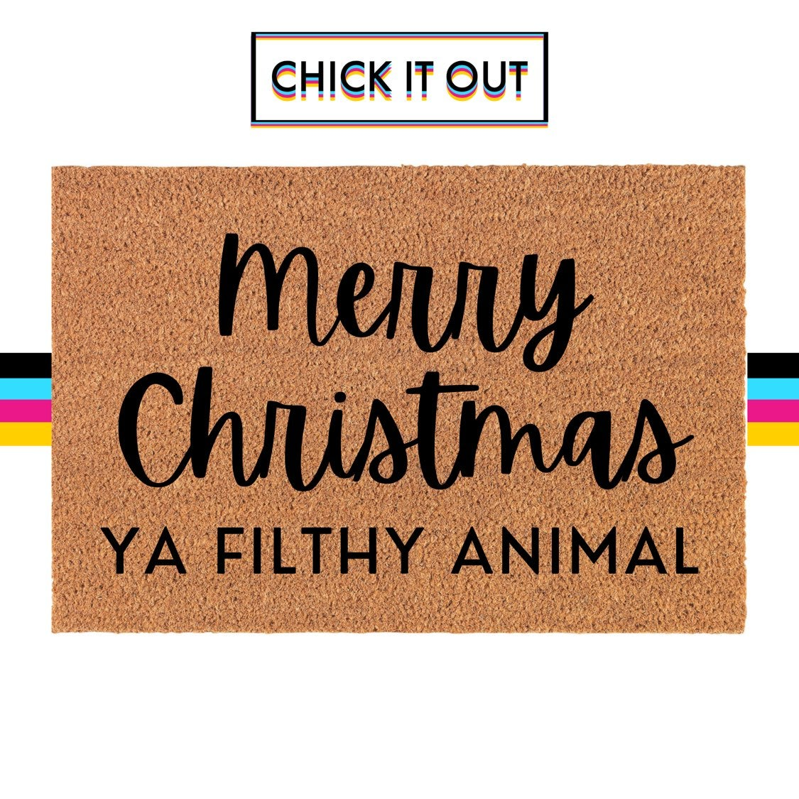 Home Alone Christmas Themed Doormat