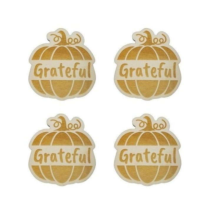 Thanksgiving Place Card Set of 4
