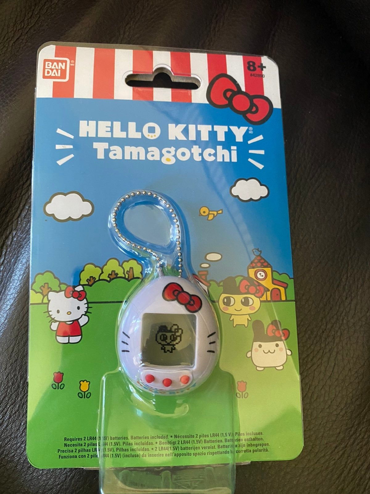 Hello Kitty Tamagotchi Keychain