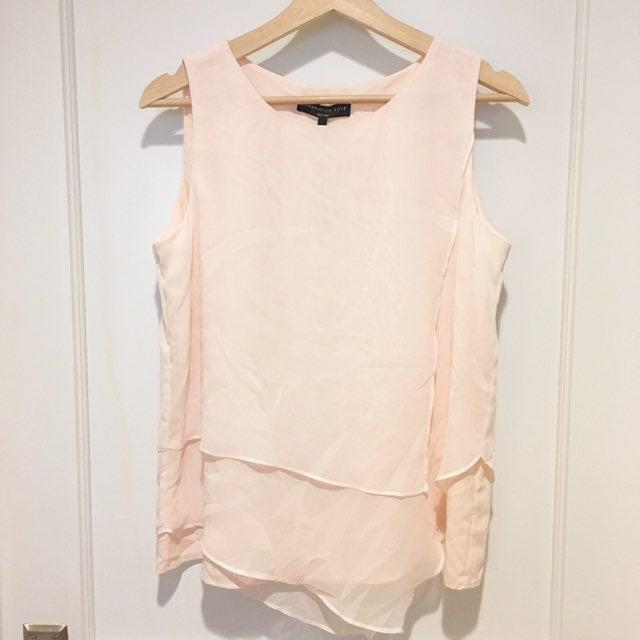 NWT Generation Love Light Pink Linen Blo
