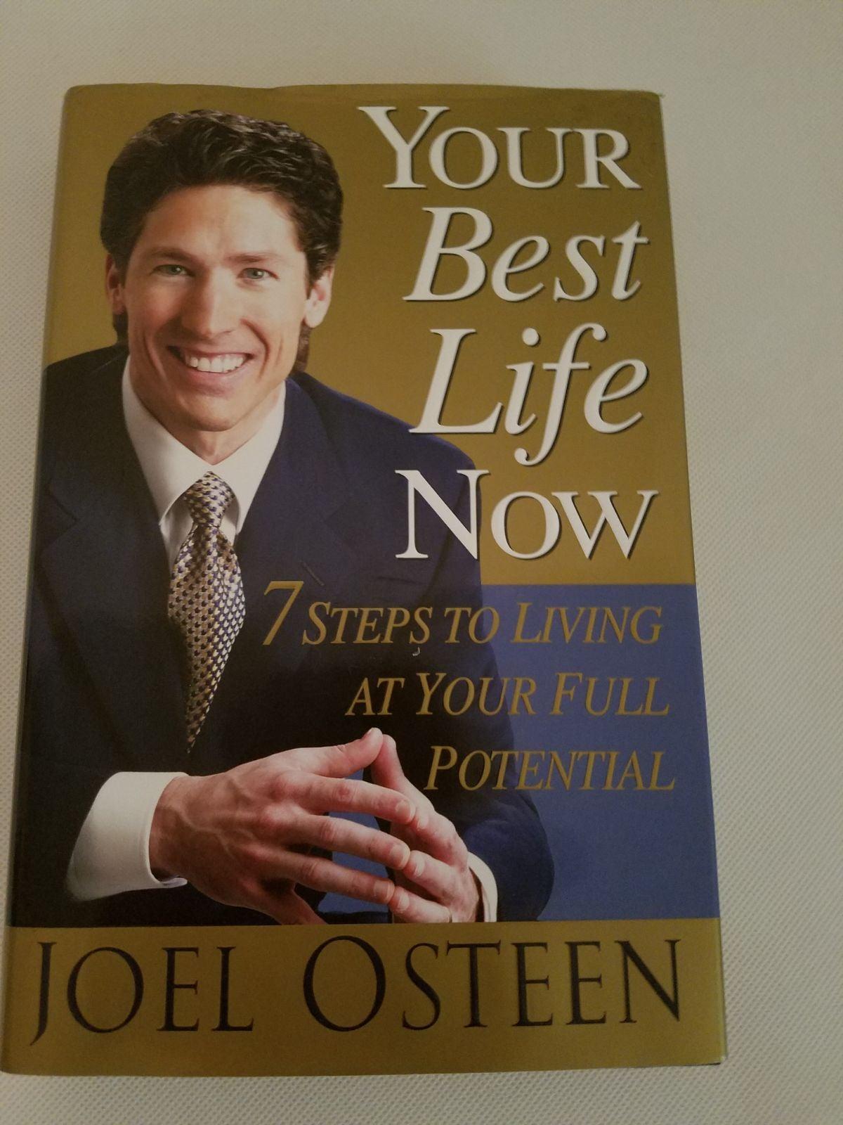 Joel Osteen Your Best Life Now Book