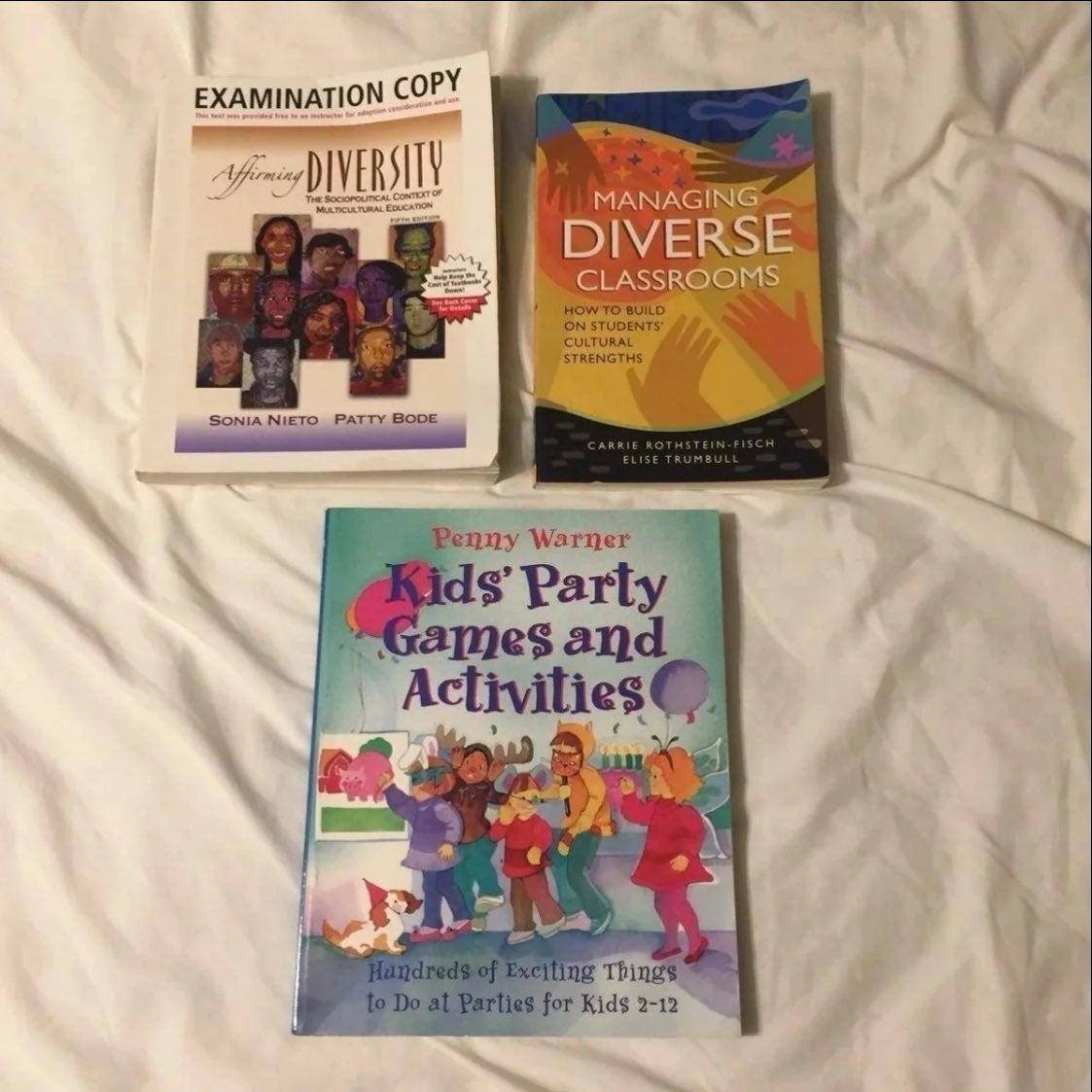 JAN SALE 3 Fun and Diversity Textbooks