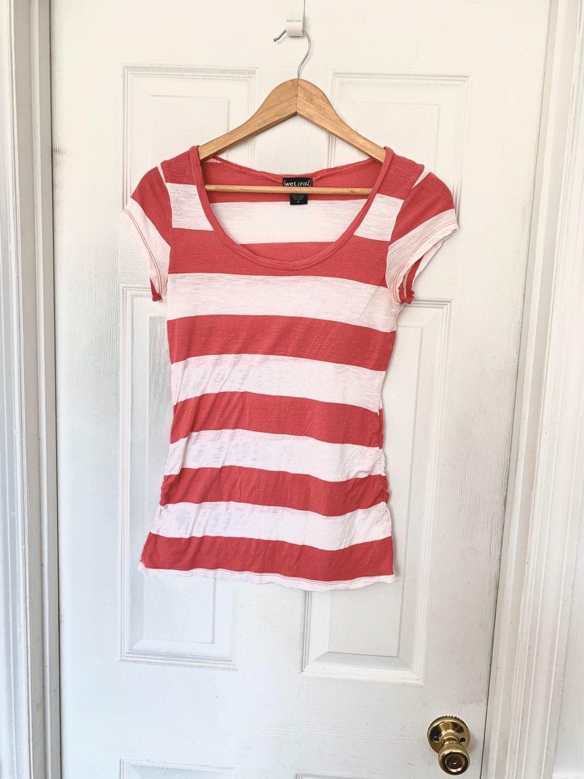 Wet Seal Striped Shirt Size Medium