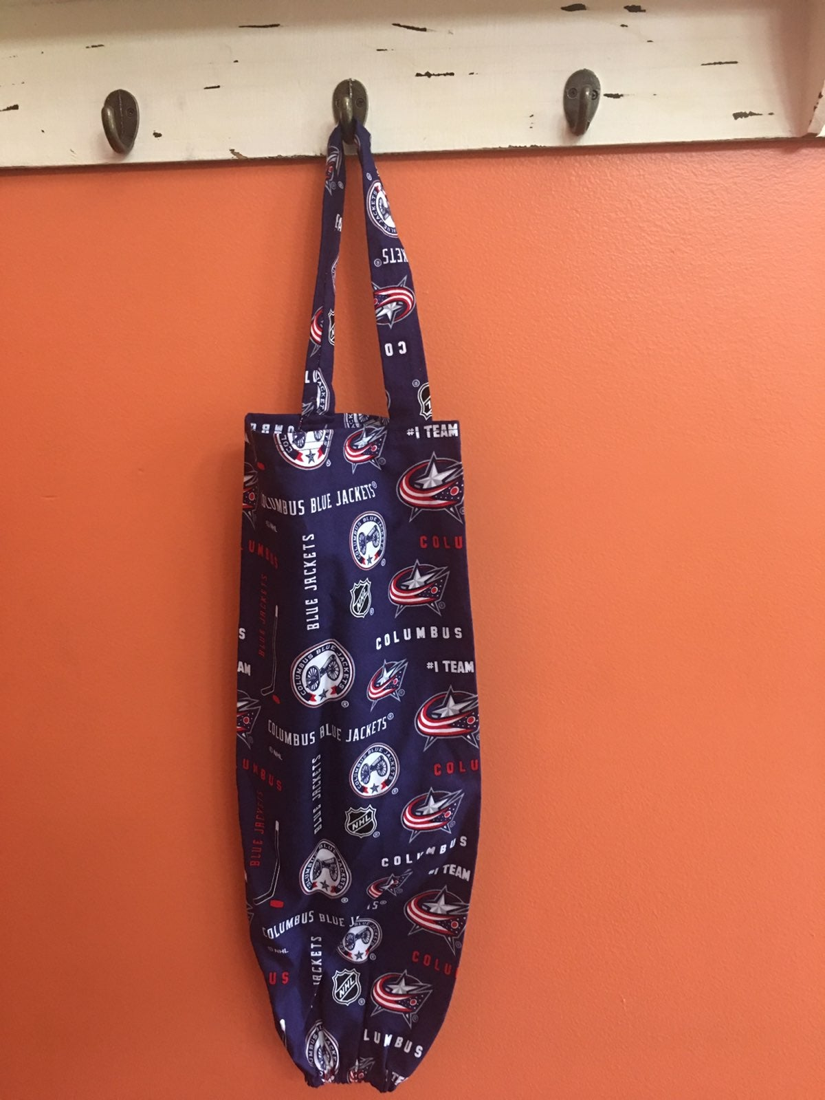 Columbus Blue Jackets Grocery Bag