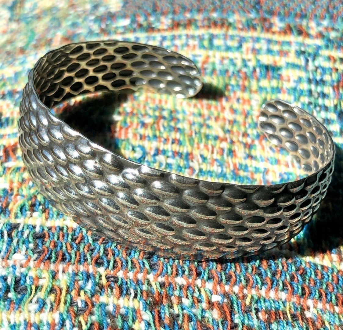 Hand Crafted Sterling Silver Wrist Cuff