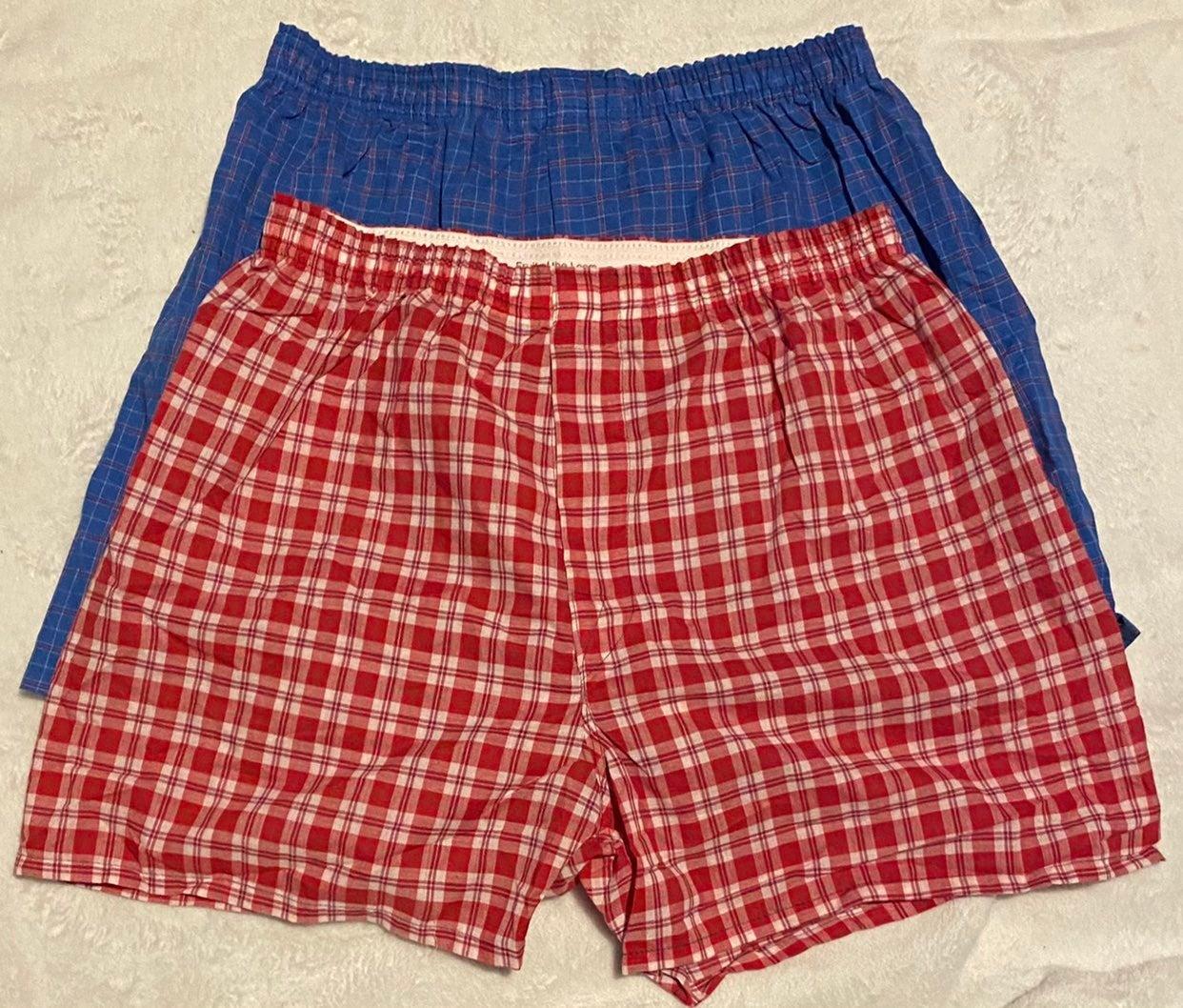 2 pair FOTL Boxer Shorts M 32-34 NEW
