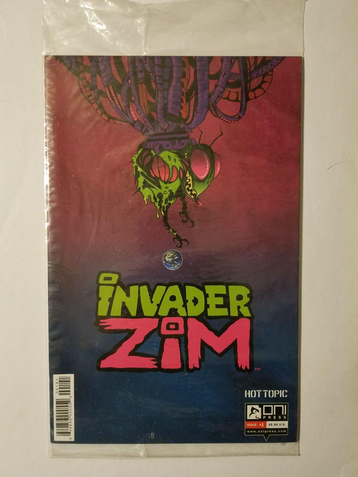 Hot Topic #1 Invader Zim sealed variant