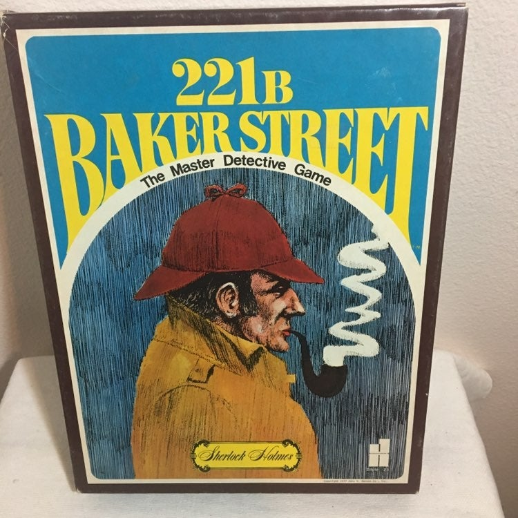 1977 Sherlock homes Detective Game