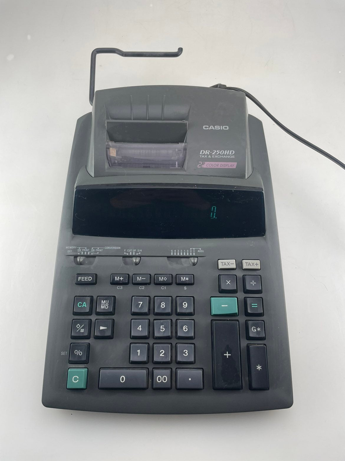 Casio DR-250HD Tax and Exchange Electron
