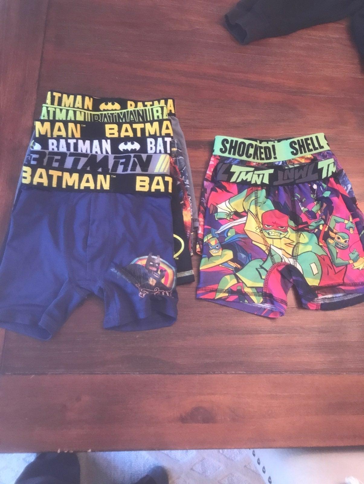 Boys size 4 batman boxers