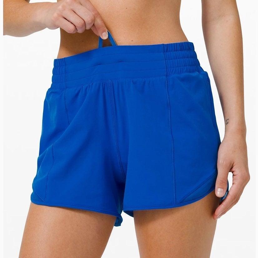 NWT lululemon hotty hot HR shorts size 4