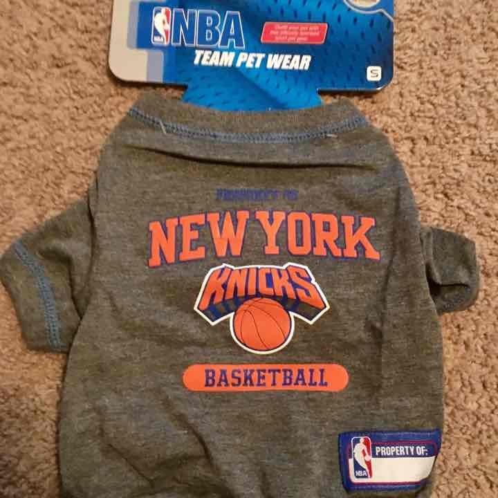 New York Knicks NBA Dog Tee Shirt Small