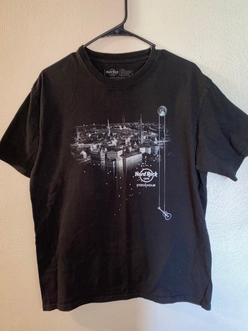 Stockholm Sweden Hard Rock Cafe T-shirt