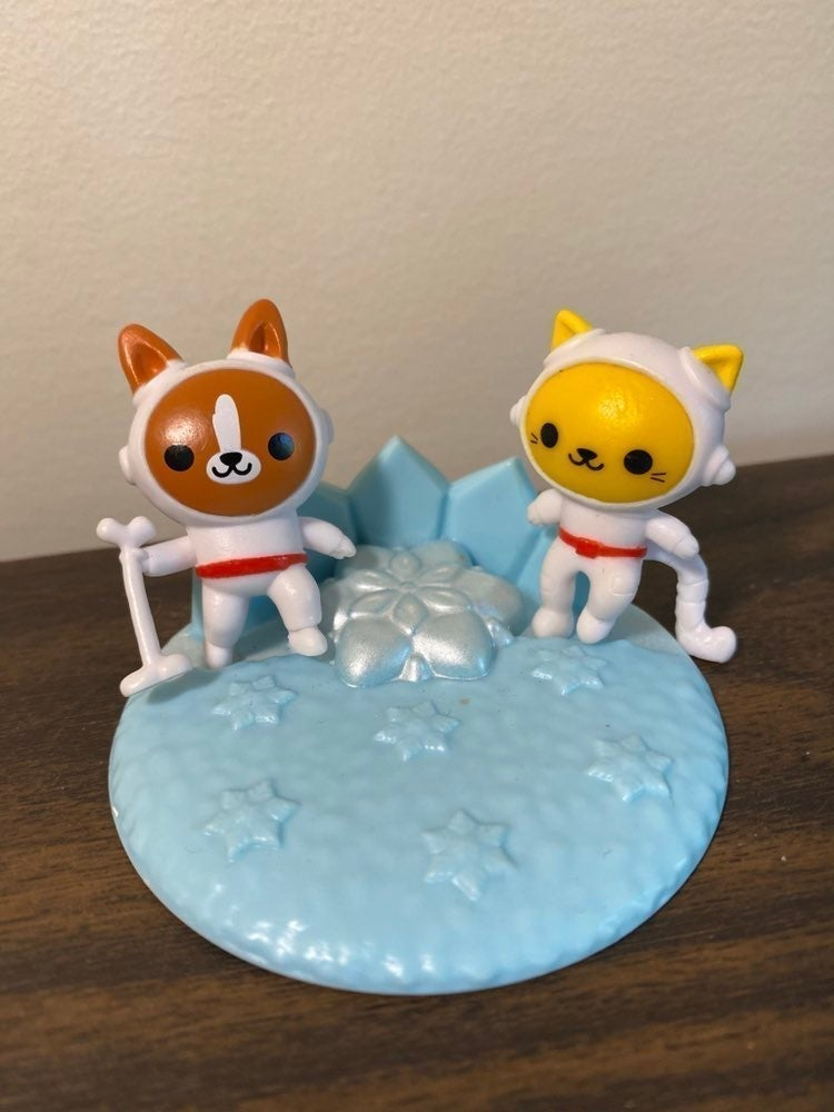 rilakkuma mini figures set