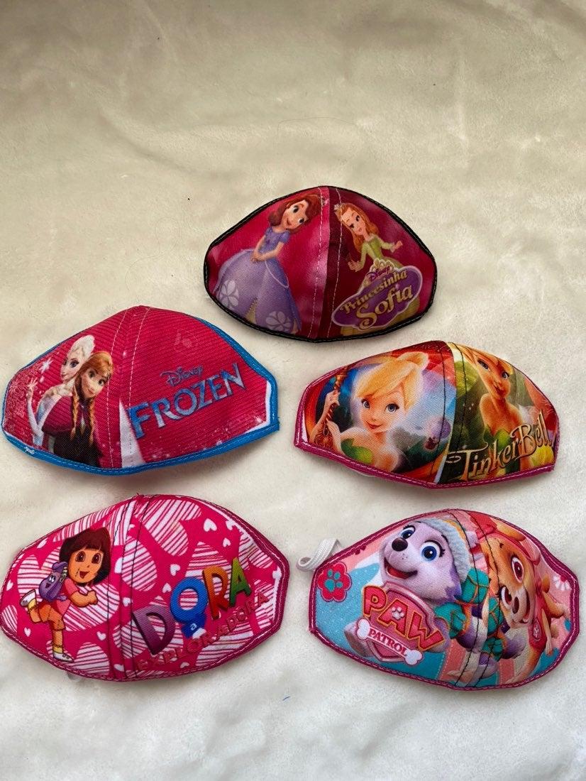 Girls kids face mask bundle