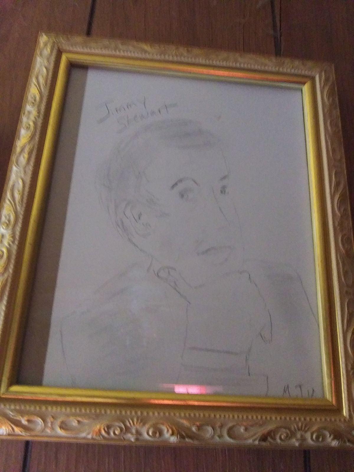 Original drawing of James Stewart