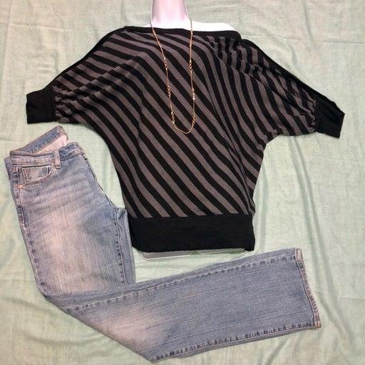 Cullen Wool Sweater W/Button Sleeves