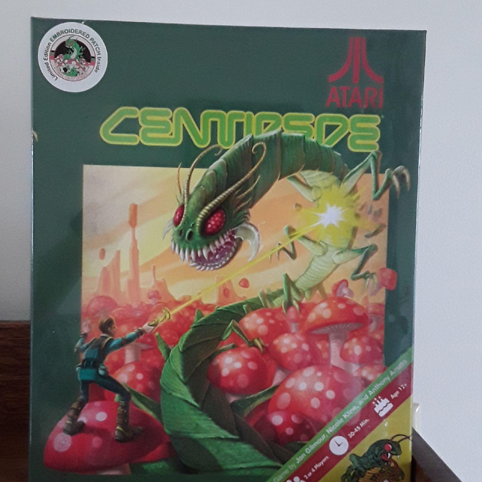Centipede board game Atari IDW