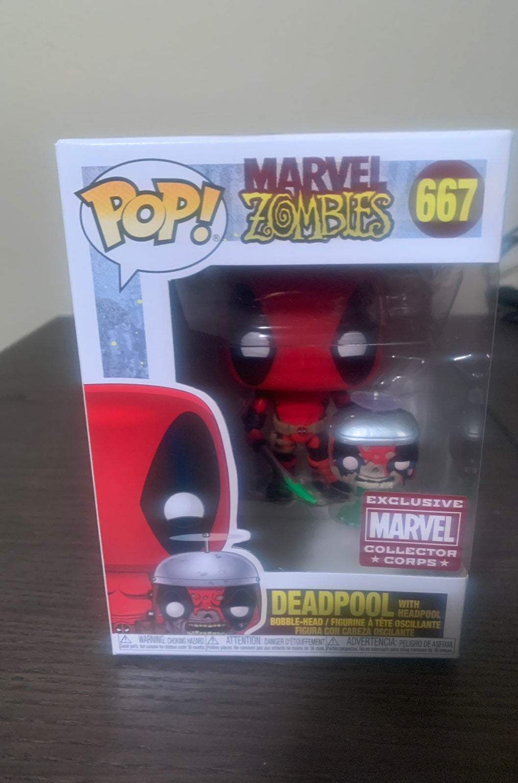 MCC Zombie Deadpool funko Pop