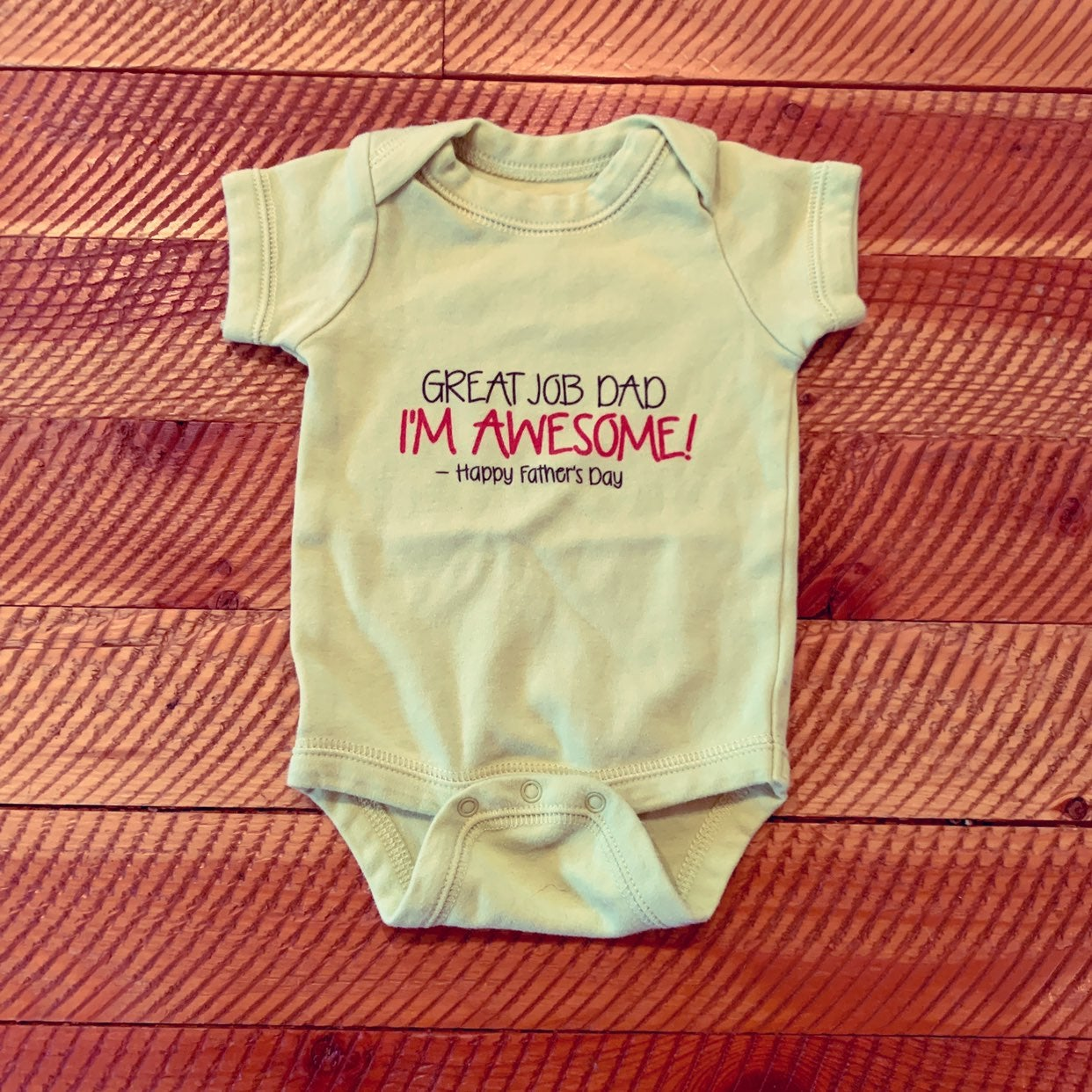 Cafe press fathers day Onesie 0-3 months