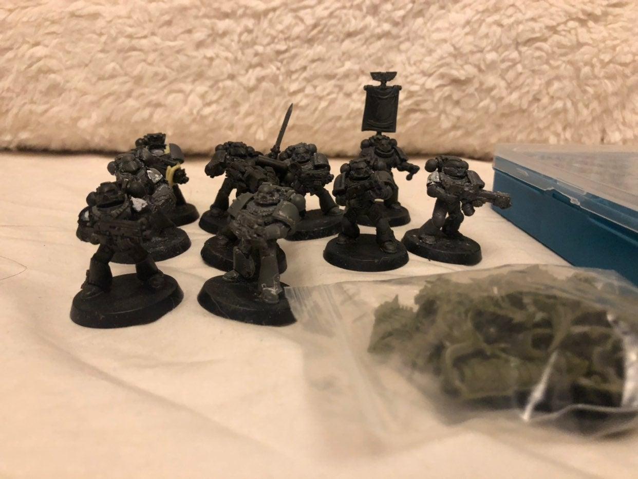 Warhammer 40k marines and Deathguard Lor