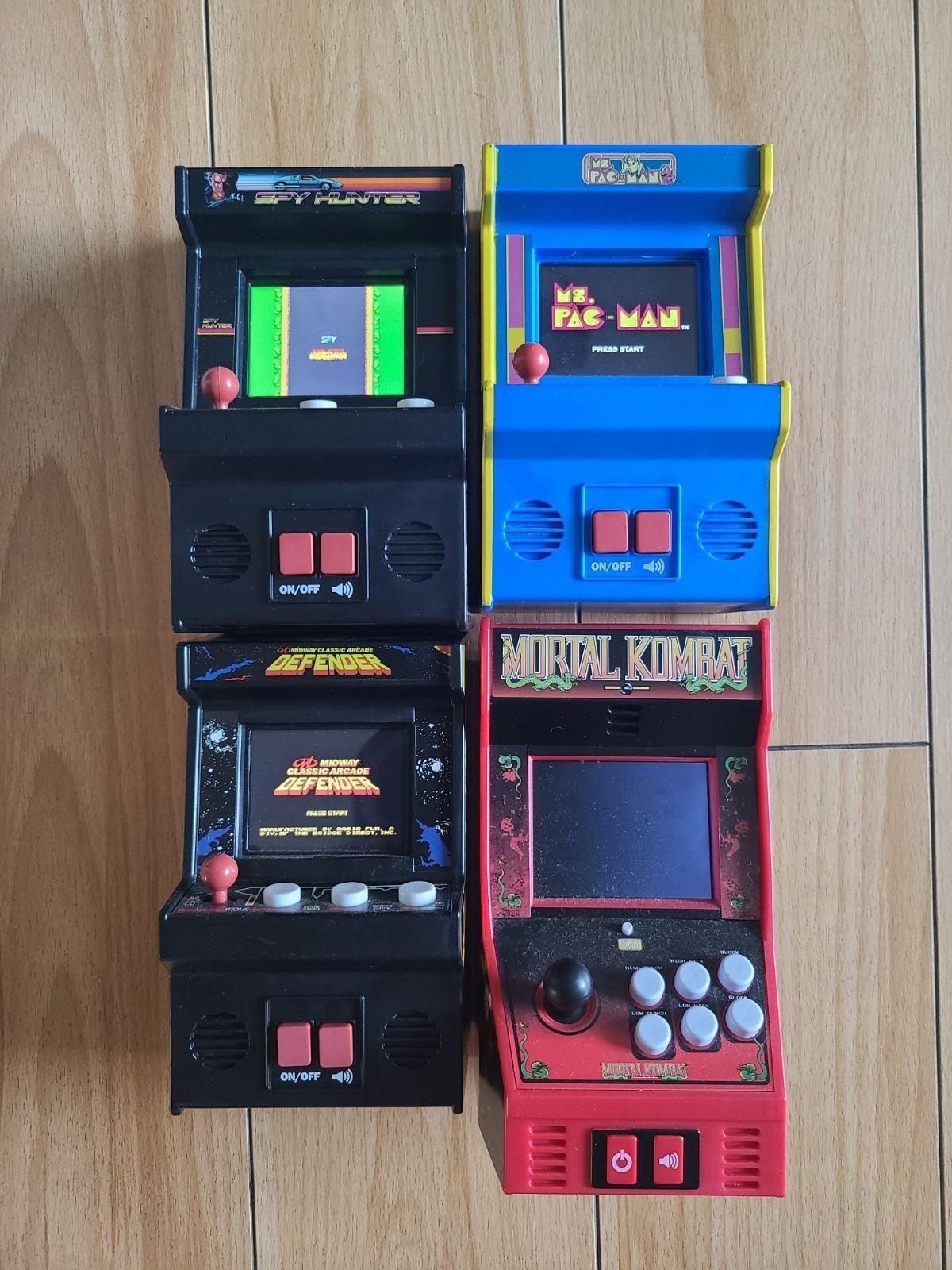 Mini Arcade Game Lot of 4