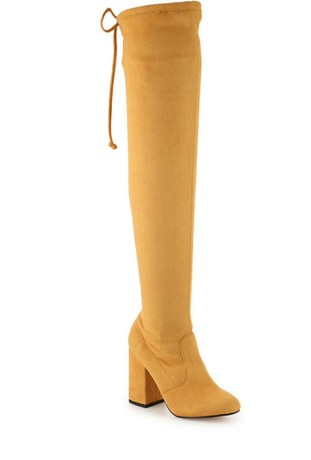 Privileged Thigh High Boots