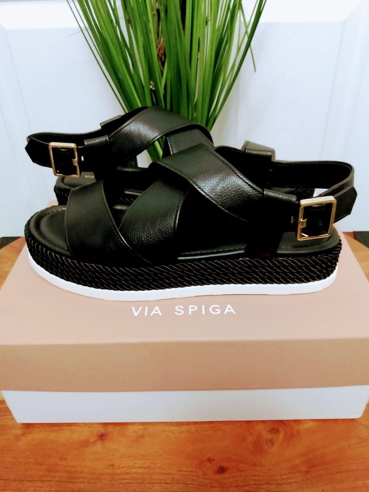 NIB Via Spiga Grayce Espradille Sandals