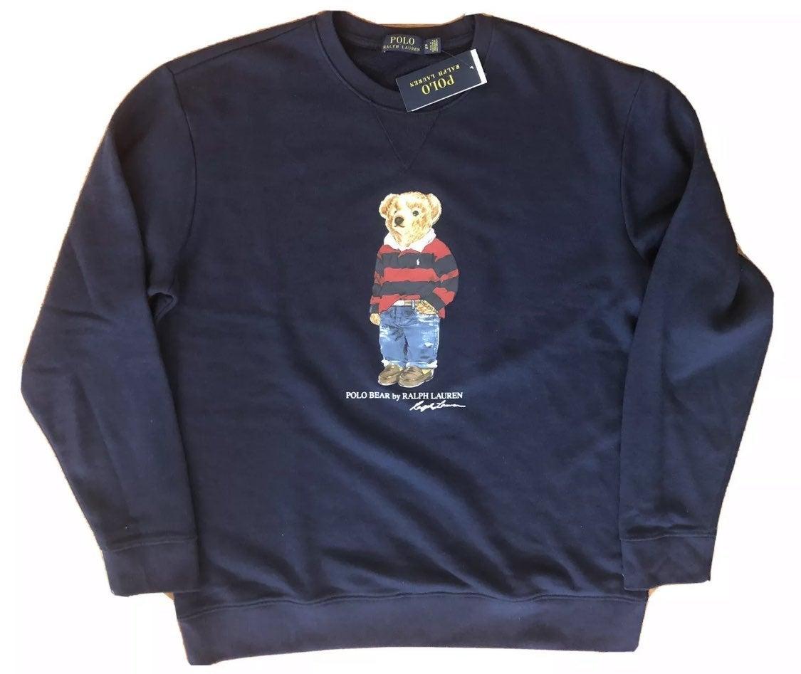 Polo Bear Rugby Crewneck Sweatshirt