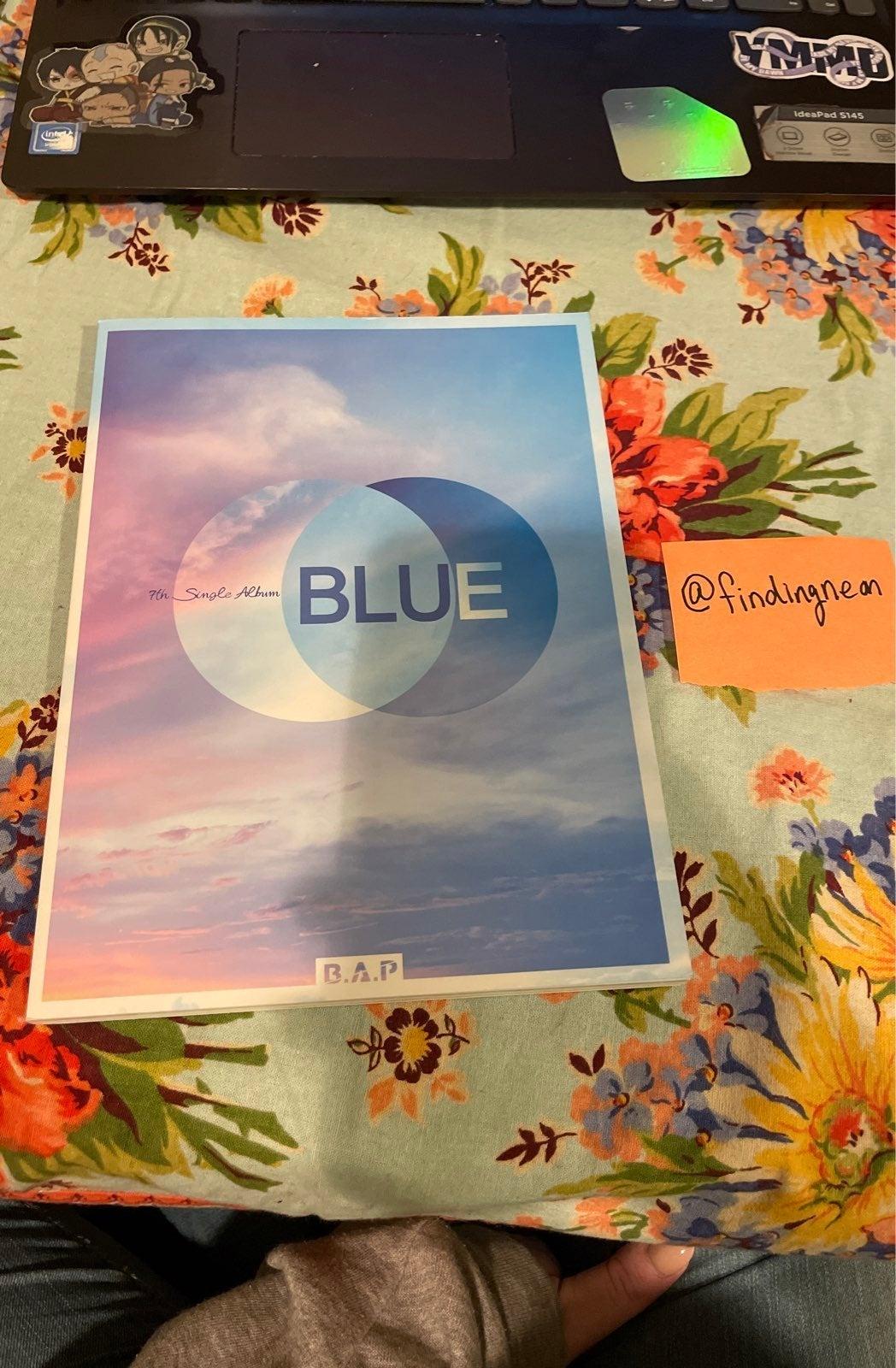B.A.P Blue album