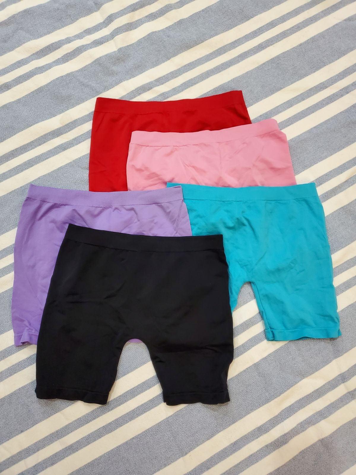 Girls 7 bike shorts bundle