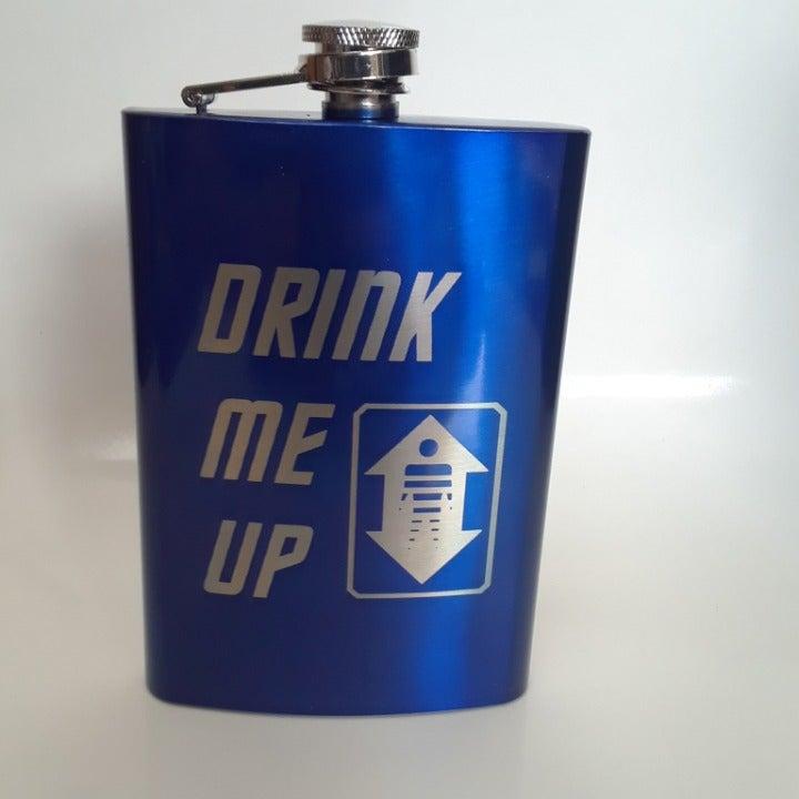 Drink Me Up 8 oz Flask