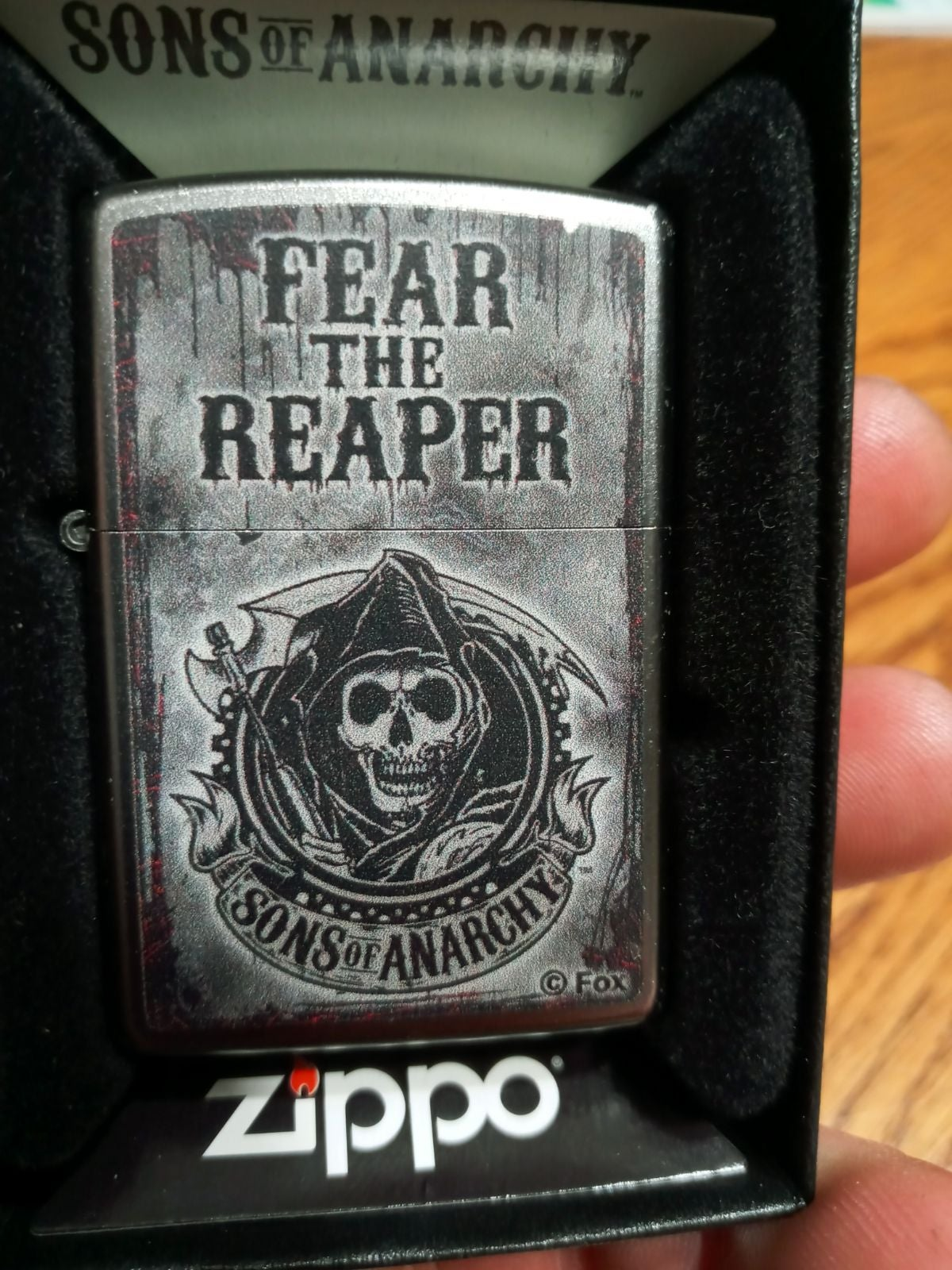 Zippo Lighter sons of anarchy