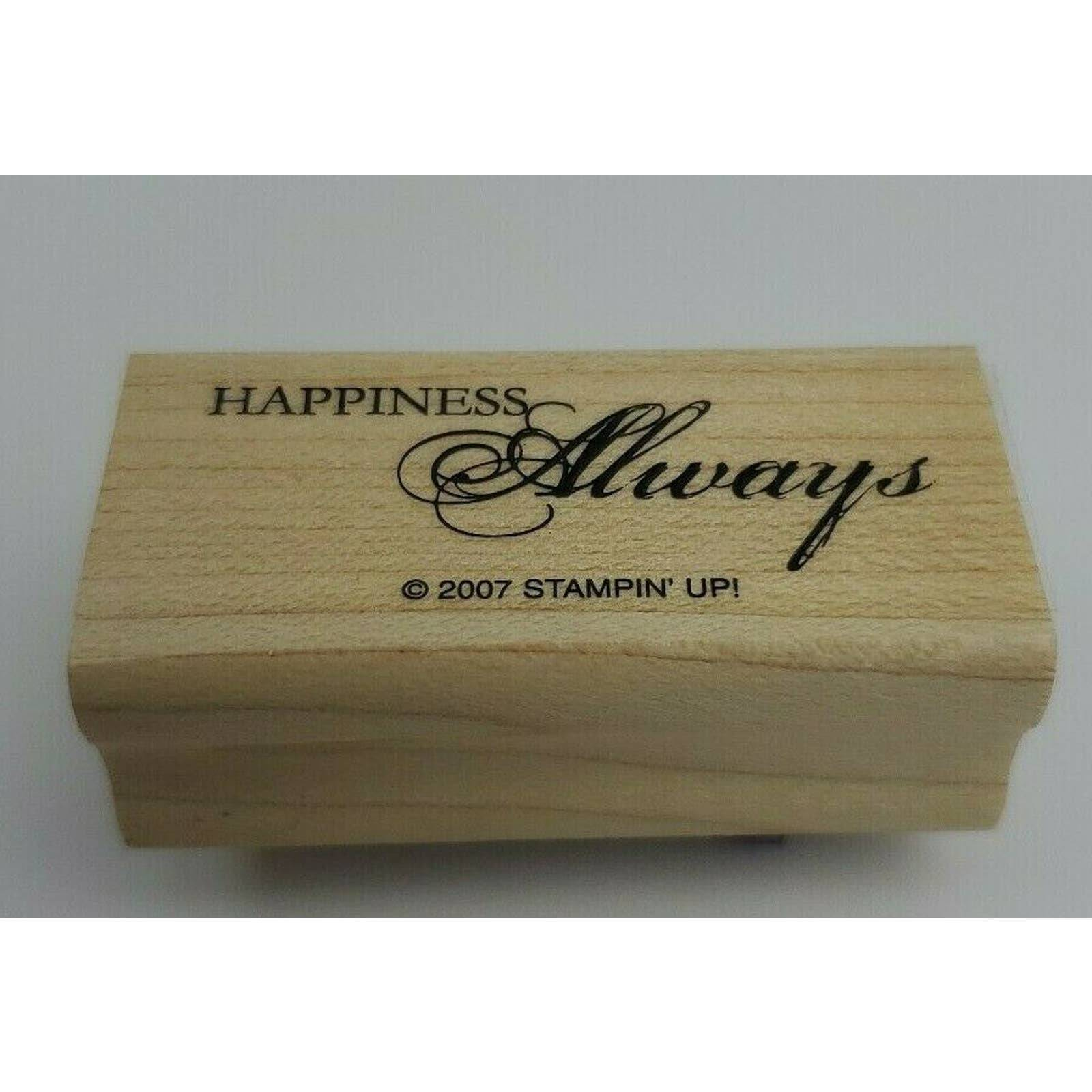 Stampin' Up! Happiness Always 2007