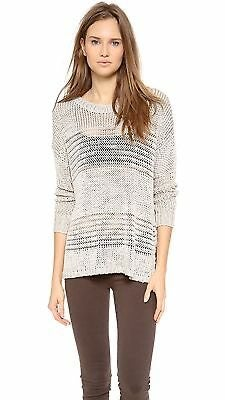 Vince Shadow Stripe Boatneck Sweater