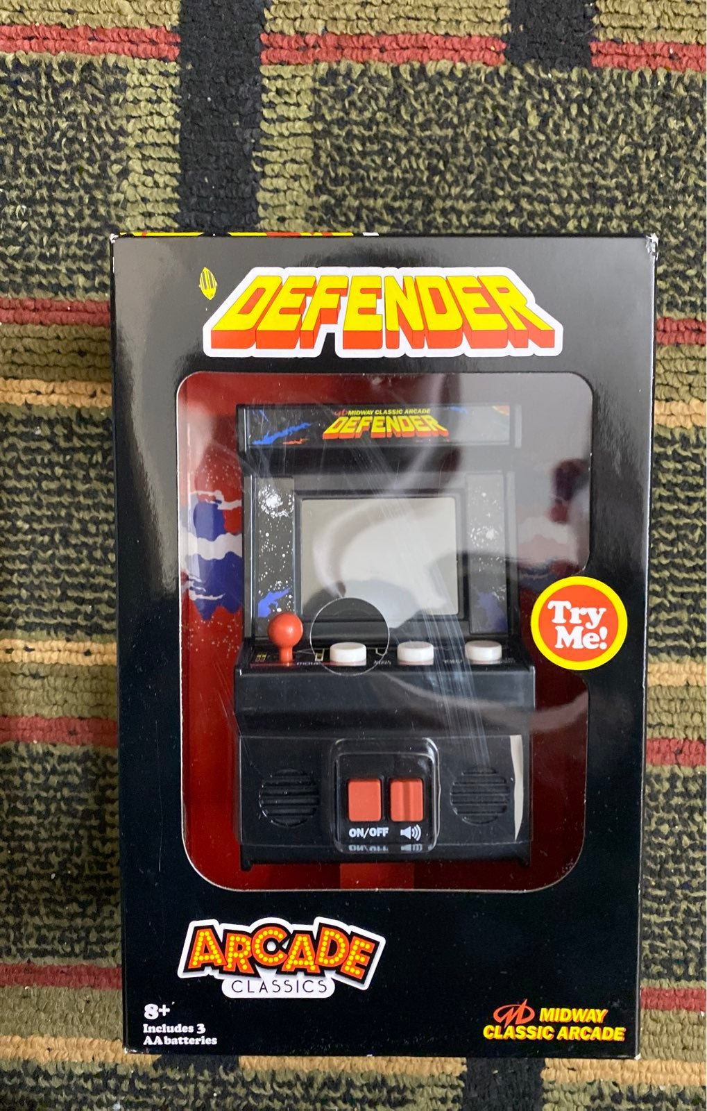 Arcade game defender