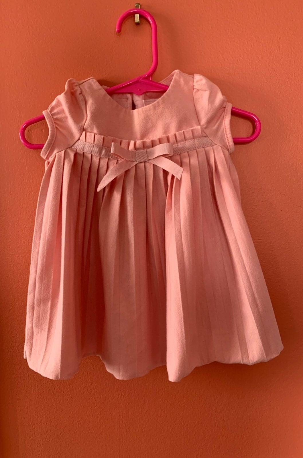 Janie and jack 6m pink baby dress